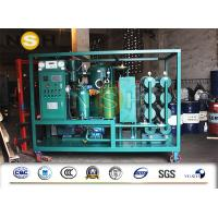 Best 4000L / H 2 Stage High Vacuum Oil Purifier For Transformer Oil Purification / Filtration wholesale
