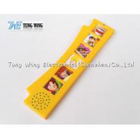 Best Orange Durable Button Sound Book Baby sound chips for cards wholesale