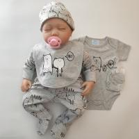 Best 5pcs Newborn Baby Clothes Set Baby Boy Outfits Cute Newborn Little Boy Clothes For Spring And Autumn wholesale