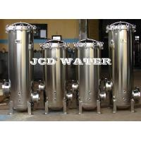 """Cheap 30"""" Stainless Steel Cartridge Filter Housing For Water Treatment , Swing Bolt for sale"""