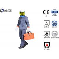 China 8 Cal PPE Safety Wear Uniforms ASTM F2621 Anti Fire Category 1 Oil Resistant on sale