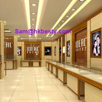Buy cheap Shop Counter Design and interior furniture design, jewelry display counter manufacturer product