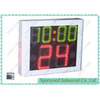 China Double Sided Water Polo Shot Clock With Period Time , Energy Saving on sale