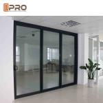 Best Powder Coated Bullet Proof Aluminium Sliding Glass Doors Customized Size corner sliding door sliding door sensor price wholesale