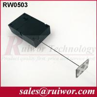 Best Ipad Security Tether With Sticking Metal Plate , Shop Retail Anti Theft Pull Box  wholesale