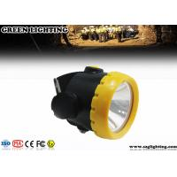 Best 1W 4000 Lux LED Mining Light With 2.2Ah Li-Ion Battery Water Proof IP68 wholesale