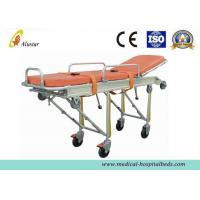 China Full Automatic Loading Stretcher Folded Emergency Patient Ambulance Stretcher Trolley (ALS-S008) on sale