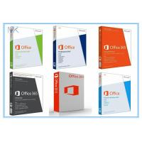 China Microsoft Office 2013 Retail Box with DVD 32bit / 64bit No Language Limitation on sale
