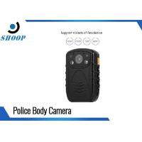 Best Law Enforcement Recorder 3MP IP67 Police Body Camera With 8MP CMOS Sensor wholesale