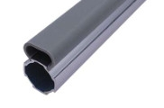 Best PVC Wiring Duct AL-2817 Aluminium Pipes Fittings For Workbench wholesale
