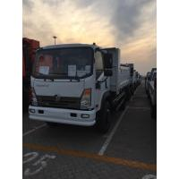 Best Single Cabin Sinotruk 3T 4x2 Light Dump Truck With Cargo Box White Color wholesale