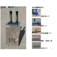 China beer cooler dispenser with two taps on sale
