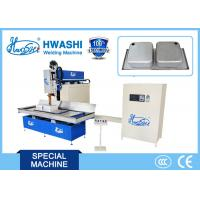 Buy cheap HWASHI CNC Sink Seamstainless Steel Welder Machine 1s-10s Adjustable Forming from wholesalers