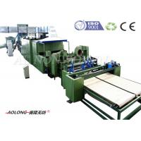 Best Automatic Mattress Stiff Polyester Wadding Machine With Heat Conducting Oil wholesale