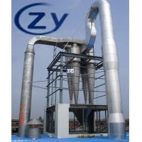 Best Cassava Drying Machine / Starch Flash Dyer 380v 50hz Silvery White Color wholesale