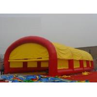 Best Party Event Large Inflatable Tent Logo Printing With 110V / 220V Voltage Blower wholesale