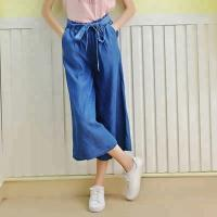 Best Mid Waist Bell Bottomed Denim Pants for Woman wholesale