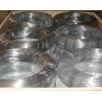 Best Low Carbon Mild Steel Galvanized Iron Wire Binding For Meshes / Spring Wire wholesale