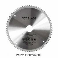 Best 6600RPM	TCT Circular Saw Blade 80T , Multi Functions Rotation Cutting Tools wholesale