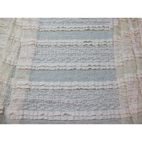 Best Multilayer Bridal Stretch Lace Trim Fabric Eco Friendly 50''- 52'' CY-LW0182 wholesale