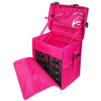 Best Durable Stackable Makeup Vanity Case , Professional Makeup Cases On Wheels wholesale