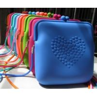 China Silicone Key Pouch Coin Purse on sale
