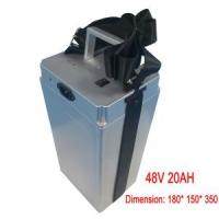 Best Electric Bike Lithium 48V 20ah Battery Pack, with BMS wholesale