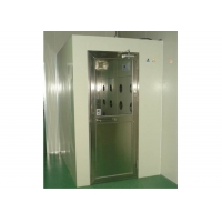 Best Powder Coating Steel 25m/s Cleanroom Air Shower With Fan wholesale