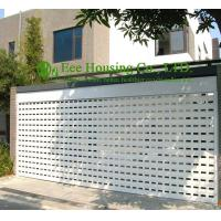 Best White Color Remote Control Aluminum alloy rolling garage door, Powder coating Surface wholesale