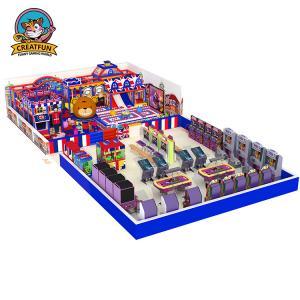 Best Kids play area indoor children playground equipment Naughty Castle wholesale