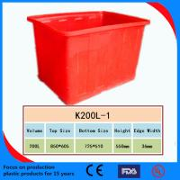Best 2013 High Quality Plastic Turnover Box /Crate wholesale