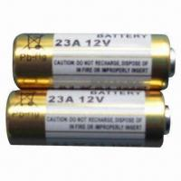 China 12V Alkaline Batteries for Remote Control, with Nominal Capacity of 55mAh on sale