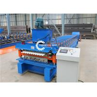 China Double Layer Roofing Sheet Roll Forming Machine Popular Design YX686/ YX762 on sale