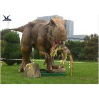 Buy cheap Handmade Dinosaur Lawn Statue Length 3.5M-4M Dinosaur Realistic Model from wholesalers