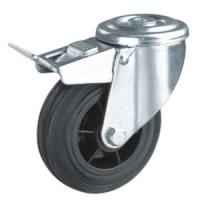Best Industrial caster wheels hollow king pin wholesale