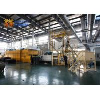 Best Heavy Duty Thermal Bonding Machine , Sound Insulation Non Woven Fabric Production Line wholesale