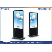 China OEM multitouch android Digital Advertising Displays , Electronic Stand Alone Digital Signage on sale