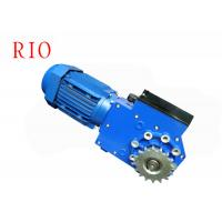 China Simple Operation Worm Gear Reduction Gearbox For Greenhouses / Flower Shed on sale