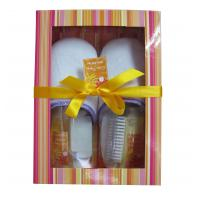 Best BC-1205001 paper box slipper foot bubble bath gift set, keep your body sprit in balance wholesale