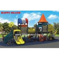 China Orange Brown Green  Outdoor Playground Equipments For Kids Imported LLDPE wholesale