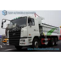 China CAMC Heavy Dump Truck  6x4 Chassis U Type Tipper Box Load Capacity 30 Ton on sale