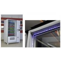 Best Subway Milk / Coco Cola / Iced Coffee Kiosk Vending Machine With Refrigerated System wholesale