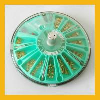 China Dental Euro post dental pin Dental Clinic Equipment stainless steel , golden plated wholesale