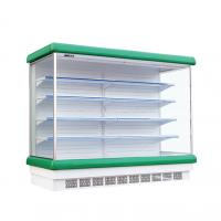China R22 Refrigerant Vertical Multideck Open Chiller With Air Curtain on sale