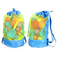 Cheap Durable Monofin Backpack Toys Balls Storage Bags Thick Nylon Mesh Construction for sale