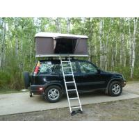 Best Automobile Hard Case Roof Top Tent , Double Layer Hard Shell Camping Tent wholesale