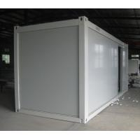 Best China manufacture white Prefabricated container house 2.4mx5.9mx2.79m wholesale