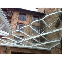 China Laminated Security Glass , Toughened Glass Panels For Balcony on sale