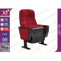 China Ergonomic Design Auditorium Theatre Seating Musical Hall Seating With Pushing Back on sale