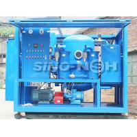 China China Sino-NSH VFD series Two-Stage High Efficiency Vacuum Transformer Oil Filtration Plant, two-stage vacuum pump on sale